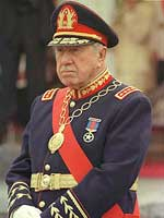 Pinochet em 1998
